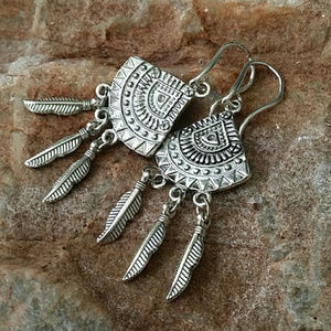 FREE PEOPLE Jewelry Earrings Silver Plated